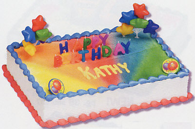 Happy Birthday Candles Cake Decorating Kit