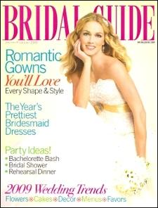 Bridal Guide - A guide for brides-to-be with all the information needed to ensure a successful wedding day. Topics are wedding fashions, decorating, etiquette, and honeymoon travel...relationships, marriage, sex, health, travel, and home design.